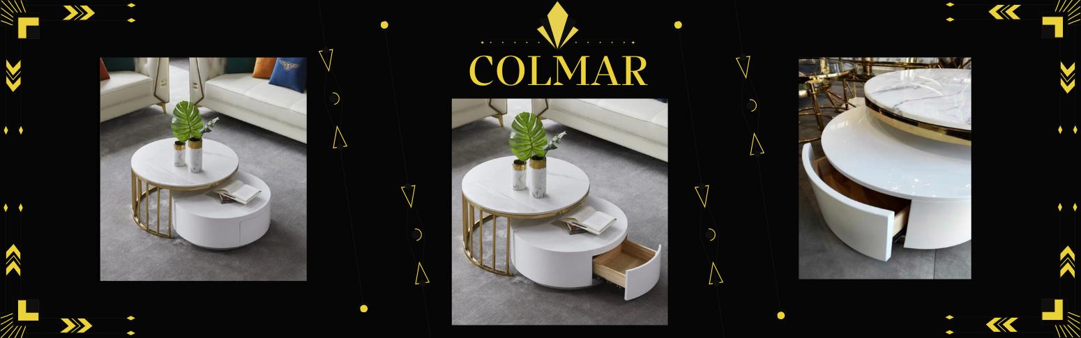 Okrągły stolik kawowy Colmar