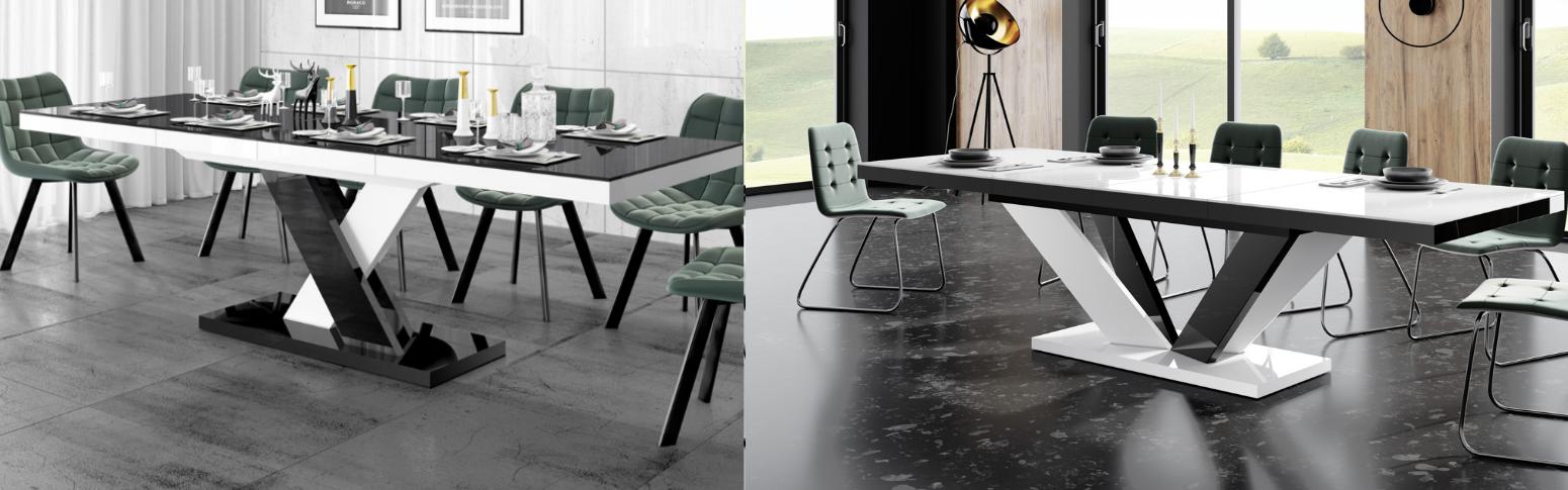 Stół Viva 2 i Xenon Lux